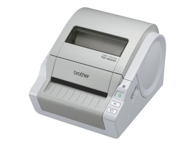 Brother TD-4000 Label printer thermal paper Roll A6 (4.13 in) 300 dpi