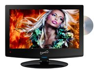 Supersonic SC-1512 15.4INCH Class LED TV with built-in DVD player 720p 1440 x 90