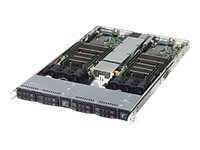 Supermicro SuperServer 1028TR-T Server rack-mountable 1U 2-way no CPU RAM 0 GB