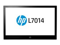"HP L7014 Retail Monitor - Head Only - écran LED - 14"" - 1366 x 768 - TN - 200 cd/m² - 500:1 - 16 ms - DisplayPort - noir HP, astéroïde"