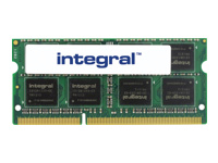 Integral - DDR3 - 8 GB - SO-DIMM 204-pin - 1600 MHz / PC3-12800 - CL11 - 1.35 V - unbuffered - non-ECC