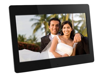 Aluratek ADMPF114F Digital photo frame flash 512 MB 14INCH 1366 x 768 black
