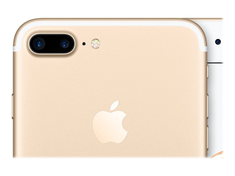 "Apple iPhone 7 Plus - Smartphone - 4G LTE Advanced - 128 Go - GSM - 5.5"" - 1 920 x 1 080 pixels (401 ppi) - Retina HD - 12 MP (caméra avant 7 MP) - or"