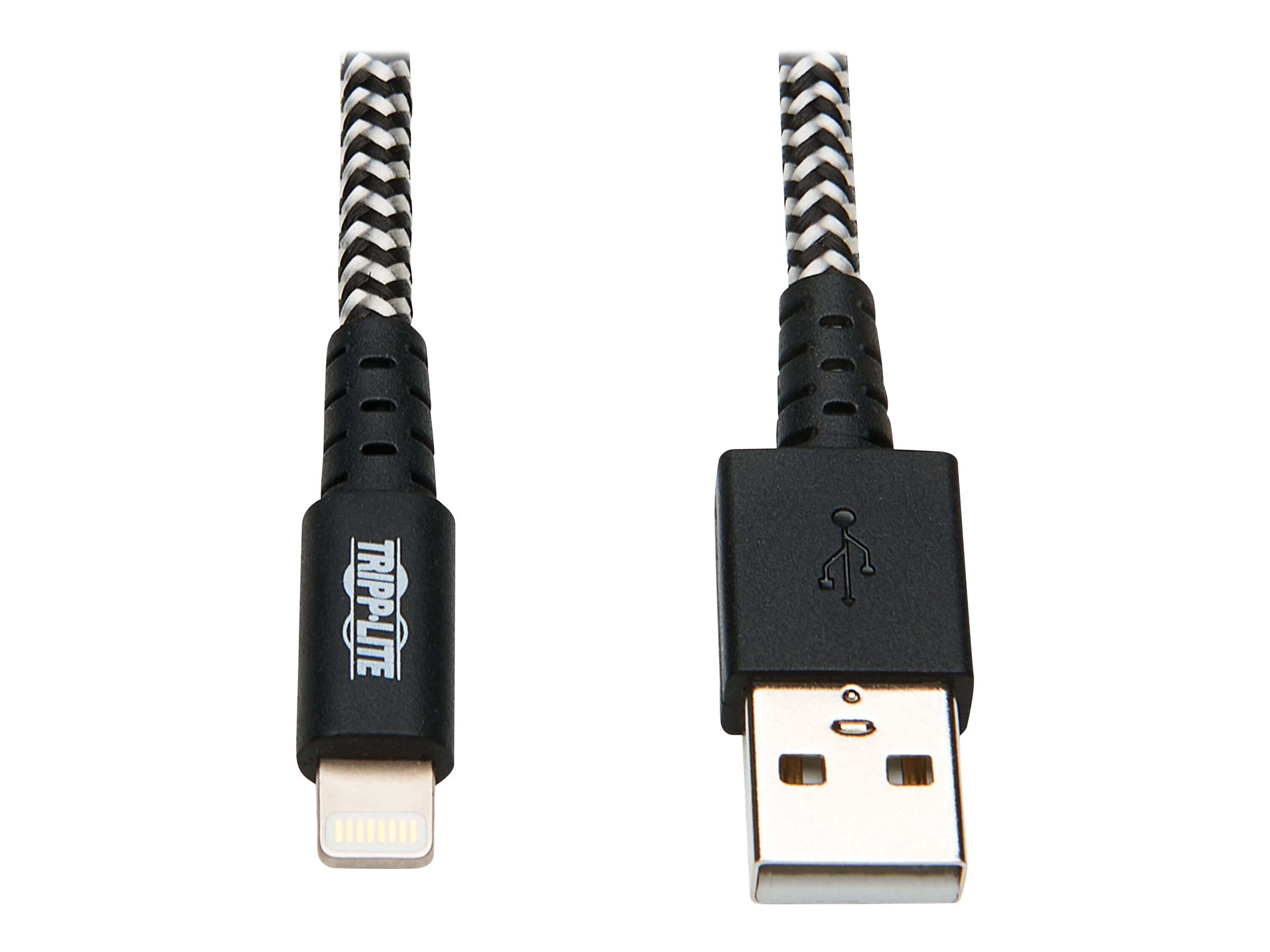 Tripp Lite Heavy Duty Lightning to USB Sync/Charge Apple iPhone iPad 10ft - Lightning cable - 3 m