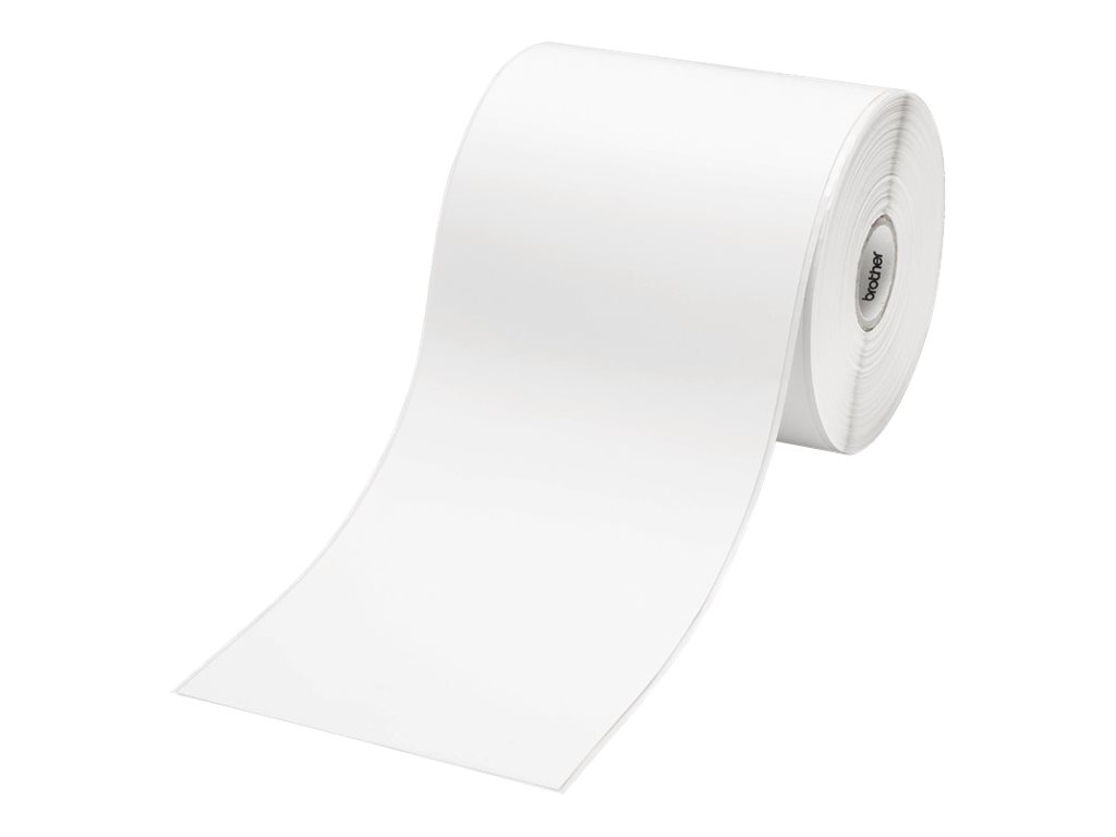 Brother RDS01E2 - Papier - weiß - Rolle (10,2 cm x 44,3 m) 1 Rolle(n) Band - für Brother TD-4000, TD-4100N