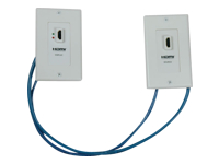 Tripp Lite HDMI Wallplate Extender Kit Over Cat5 / Cat6 F/F