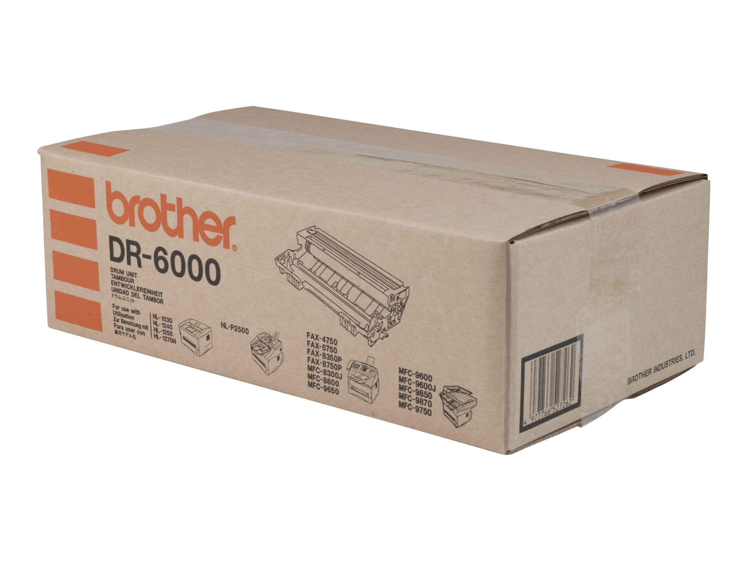 Brother DR6000 - Trommel-Kit - für Brother HL-1030, 1230, 1240, 1250, 1270, 1430, 1440, 1450, 1470, MFC-8300, 8600, 9600
