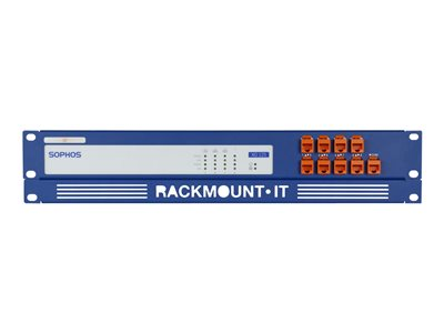 Rackmount.IT RM-SR-T2 Network device mounting kit rack mountable RAL 5010, gentian blue