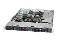 Supermicro SuperServer 1027R-WC1NRT Server rack-mountable 1U 2-way RAM 0 GB