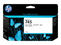 HP 745 130 ml photo black original DesignJet ink cartridge