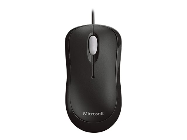 Microsoft Basic Optical Mouse - Mouse - right and left-handed - optical