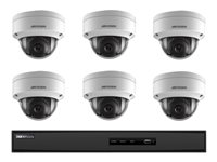 Hikvision I7608N2TA NVR + camera(s) wired LAN 10/100 8 channels 1 x 2 TB 6 camera(s)
