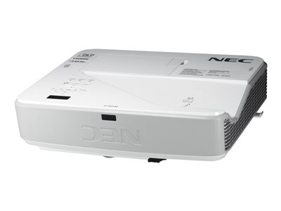 NEC U321H - DLP projector - 3D - 3200 ANSI lumens - Full HD (1920 x 1080) - 16:9 - 1080p - ultra short-throw fixed lens