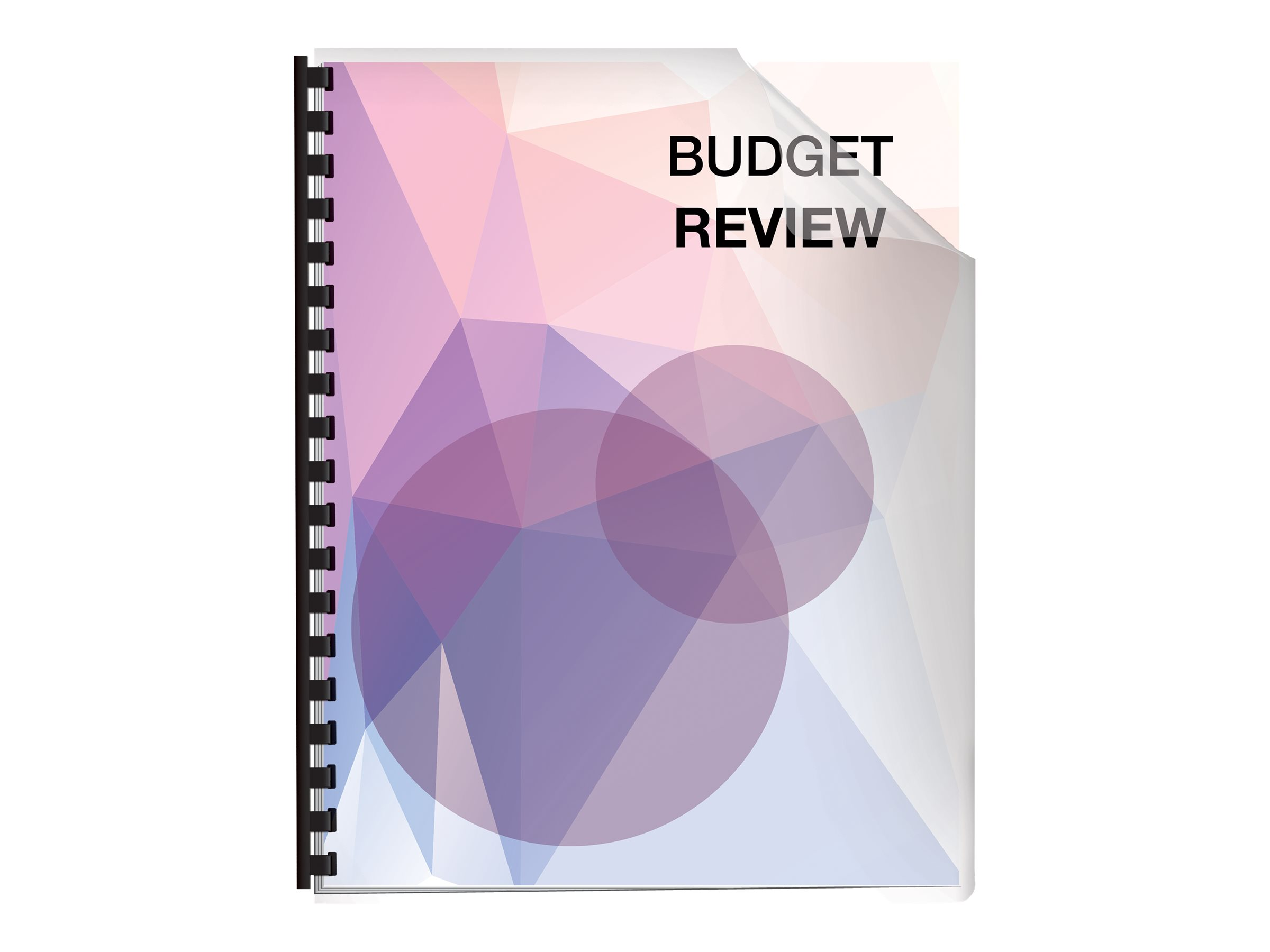 Fellowes Futura Presentation Covers Oversize, Frosted - 25 pcs. - binding cover