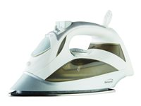Brentwood MPI-90 Steam iron with auto shut-off sole plate: stainless steel 1200 W whi
