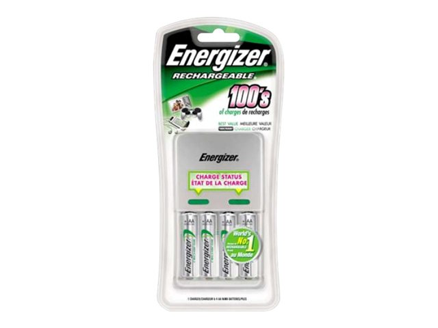 Energizer Value Charger battery charger - 4 x AA type - NiMH