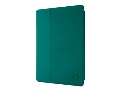 STM Studio Flip cover for tablet polyurethane, polycarbonate dark green smoke