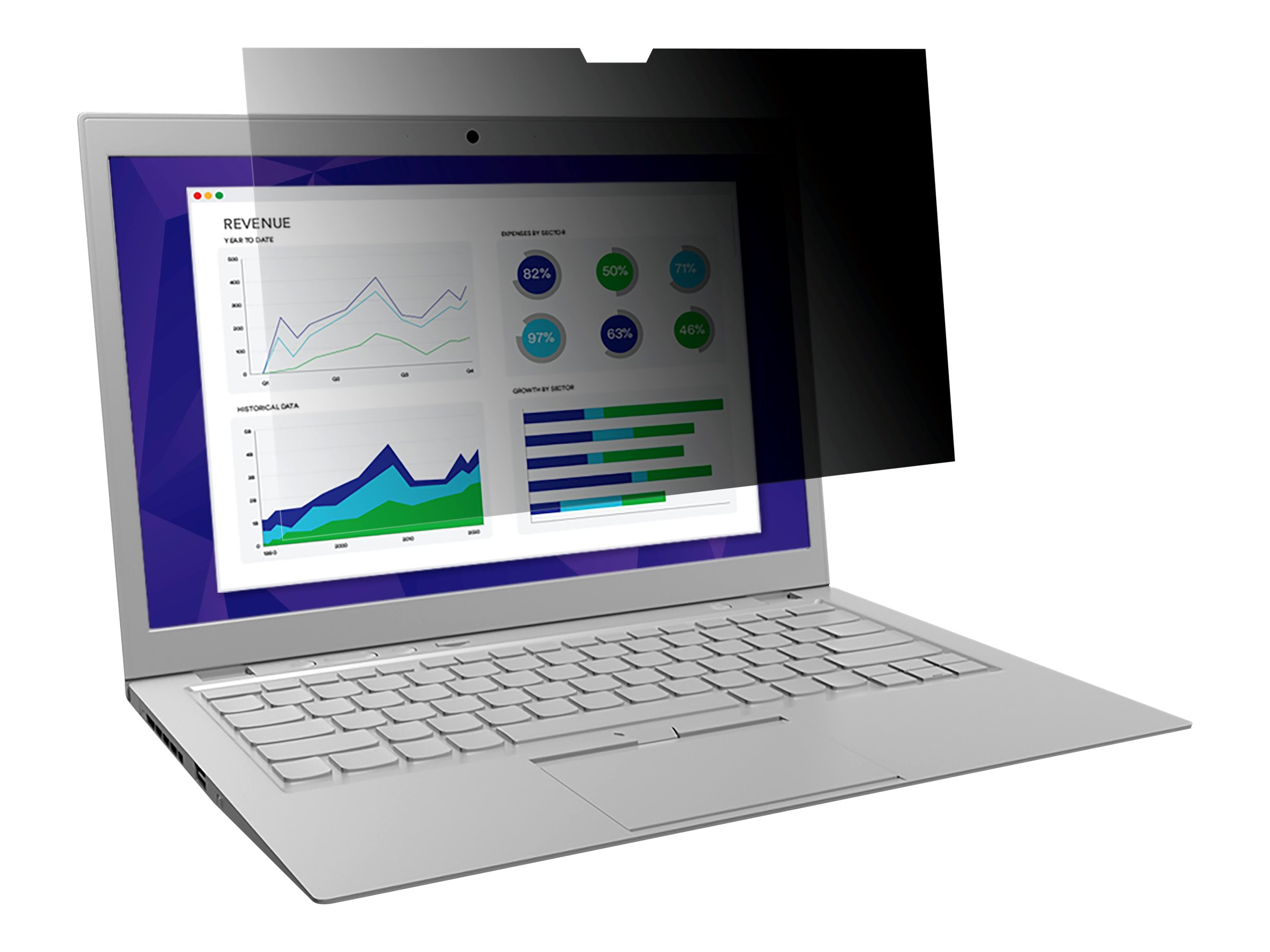 """3M Privacy Filter for Edge-to-Edge 11.6"""" Full Screen Laptop with COMPLY Attachment System notebook privacy filter"""