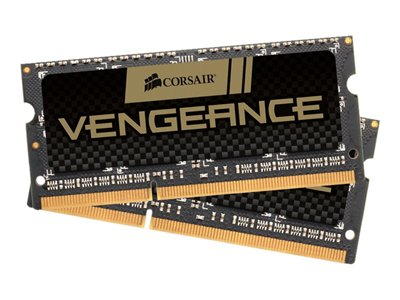 CORSAIR Vengeance DDR3  16GB kit 1600MHz CL10  Ikke-ECC SO-DIMM  204-PIN