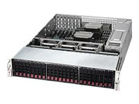Supermicro SuperStorage Server 2027R-E1R24N Server rack-mountable 2U 2-way no CPU