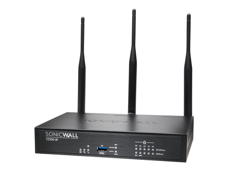 SonicWall TZ300 Wireless-AC - dispositif de sécurité - avec 1 an de service TotalSecure