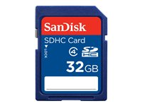 SanDisk Standard - Carte mémoire flash - 32 Go - Class 4 - SDHC