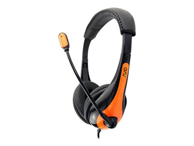 Avid AE-36 Classroom Pack headset on-ear wired 3.5 mm jack orange