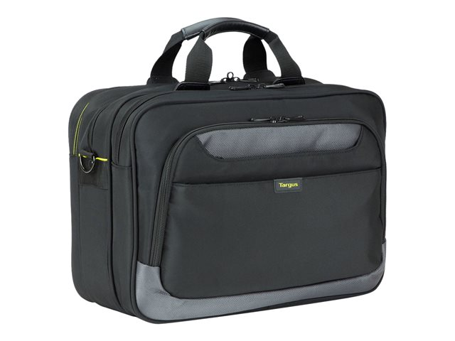 "Targus CityGear Topload Laptop Case With Printer Section - Sacoche pour ordinateur portable - 15.6"" - noir"