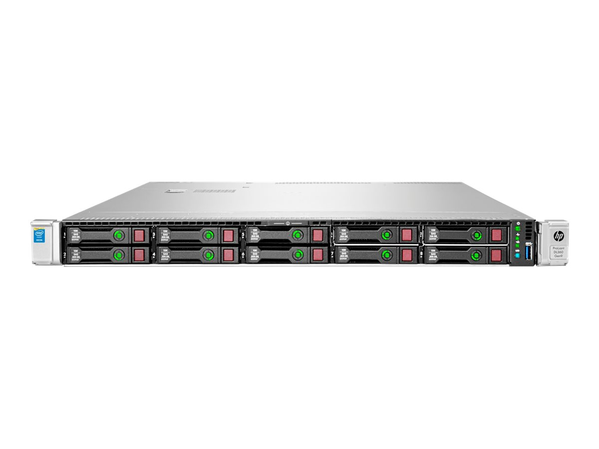 HPE ProLiant DL360 Gen9 Base - Server - Rack-Montage - 1U - zweiweg - 1 x Xeon E5-2603V4 / 1.7 GHz