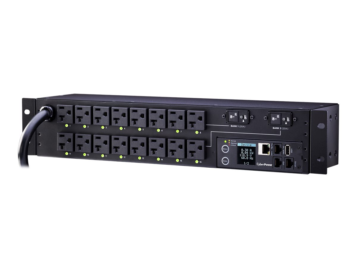 CyberPower Switched Metered-by-Outlet PDU81003 - power distribution unit