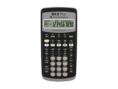 Texas Instruments BA II Plus main image