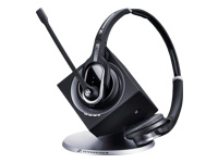 Sennheiser DW Pro2 - Office Wireless Series - headset - on-ear - wireless - DECT CAT-iq - black