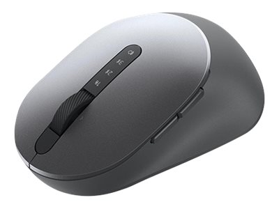 Dell MS5320W - mouse - 2.4 GHz, Bluetooth 5.0 - titan gray