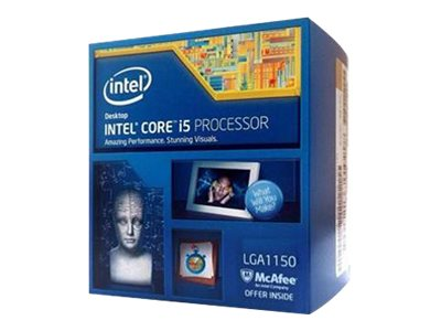 Intel Core i5 4590 - 3.3 GHz - 4 Kerne - 4 Threads - 6 MB Cache-Speicher - LGA1150 Socket
