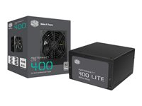 Cooler Master MasterWatt Lite 400 - Alimentation électrique (interne) - ATX12V 2.31 - 80 PLUS - CA 230 V - 400 Watt - PFC active - Europe