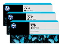 HP 771A Tri-pack 3-pack 775 ml matte black original ink cartridge