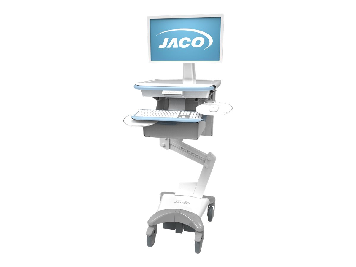 """JACO Drawer System - Cabinet, Single 3""""Drawer, Touchpad Electronic Lock - mounting component"""