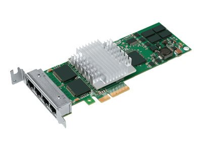 Intel PRO/1000 PT Quad Port LP Server Adapter - Netzwerkadapter - PCIe x4 Low Profile - Gigabit Ethernet x 4