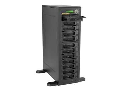 Aleratec 1:11 HDD Copy Cruiser IDE/SATA Hard drive duplicator 12 bays (IDE