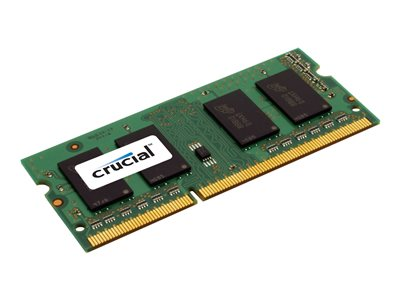 Crucial DDR3L  1600MHz CL11  Ikke-ECC SO-DIMM  204-PIN
