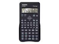 Aurora AX-582BL - Scientific calculator - battery - black