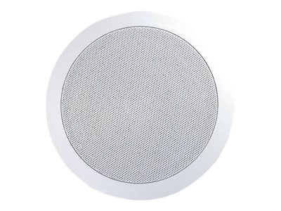 C2G 6in Ceiling Speaker 2-way white image