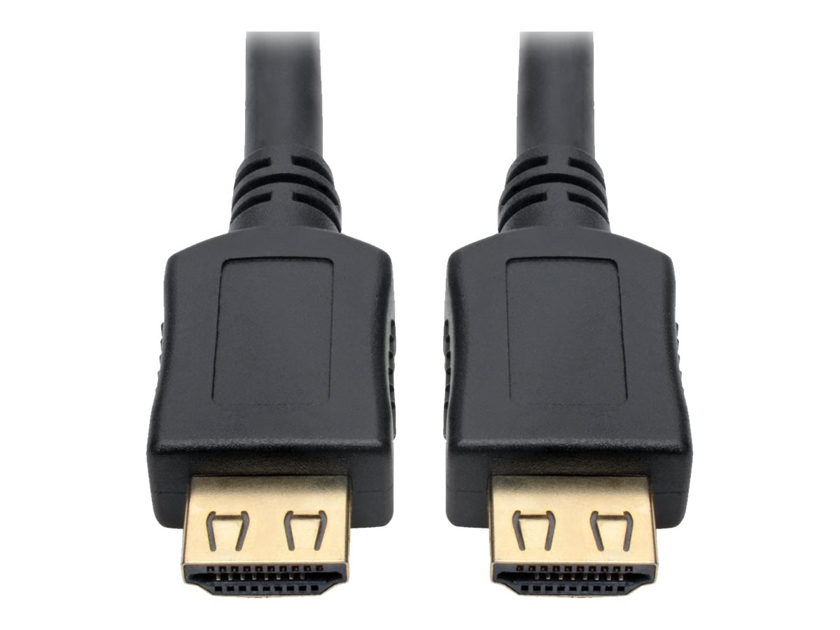 Tripp Lite High-Speed HDMI Cable w/ Gripping Connectors 4K M/M Black 12ft 12' - HDMI cable - 3.66 m