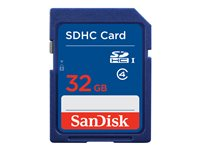 SanDisk Flash memory card 32 GB Class 4 SDHC