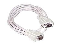 C2G VGA cable HD-15 (VGA) (M) to HD-15 (VGA) (M) 15 ft beige