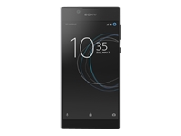 "Sony XPERIA L1 - G3312 - smartphone - dual-SIM - 4G LTE - 16 GB - microSDXC slot - GSM - 5.5"" - 1280 x 720 pixels - TFT - 13 MP (5 MP front camera) - Android - black"