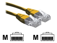 3M Yellow RJ45 UTP CAT 6 Stranded Flush Moulded Snagless Network Cable 24AWG LS0H