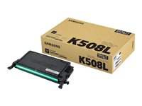 Samsung CLT-K508L High Yield black original toner cartridge (SU191A)