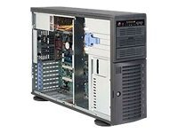 Supermicro SC743 T-500B - tower - 4U - extended ATX