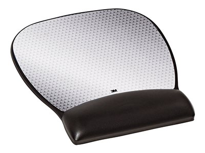 3M Precise Mouse pad with wrist pillow black